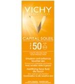 Vichy Ideal Soleil Emulsion Facial Acabado Seco Solar Spf 50 |