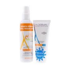 A-derma Fotoprotector Protect Niños Spray Spf 50+/200ml + Regalo Leche Reparadora Después del Sol