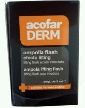 Acofarderm Ampolla Flash Efecto Lifting 1Amp de 2ml