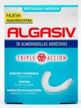 Algasiv Dentadura Inferior 30 Almohadillas Adhesivas - Farmacia Farmacosmetia