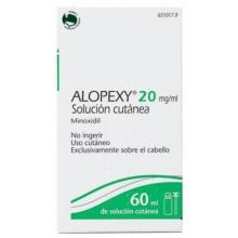 Alopexy 20mg/ml Solución Cutánea
