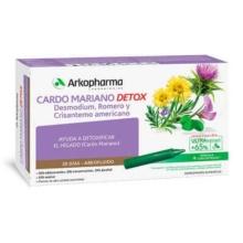 Arkopharma Cardo Mariano Detox 20 Ampollas bebibles