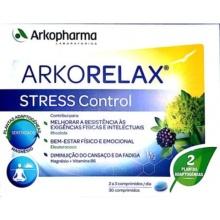 Arkopharma Stress Control 30 Comprimidos