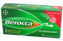 Berrocca Performance Comprimidos Sabor Frutos Rojos