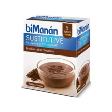 Bimanan Natillas sabor Chocolate