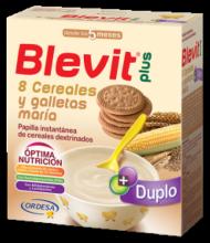 Blevit Plus 8 cereales y Galletas María