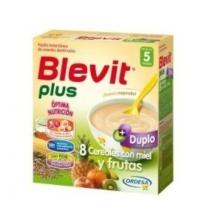 Blevit Plus 8 cereales y frutas duplo