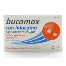 Bucomax Lidocaína Sabor Naranja