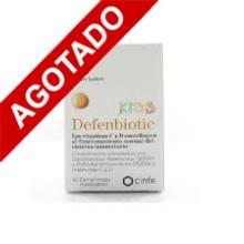 Cinfa Defenbiotic Kids Nature System 60 Comprimidos Masticables