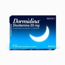 DORMIDINA DOXILAMINA 25MG 14 COMPRIMIDOS