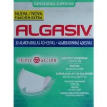 Algasiv Dentadura Superior 30 Almohadillas Adhesivas