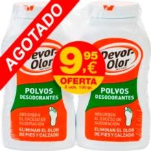 Devor Olor Polvos Desodorantes Duplo