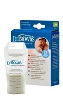 Dr Browns 25 Bolsas Almacenar Leche Materna