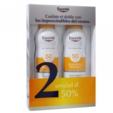 EUCERIN SUN PROTECTION SPRAY TRANSPARENT SPF50 / 200ml+200ml