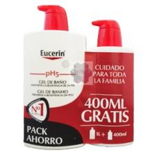 Eucerin Gel de Baño 1000ml + 400ml Gratis