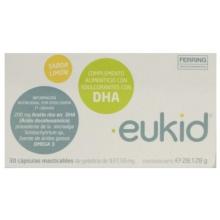 Eukid Complemento Alimenticio sabor limón cápsulas