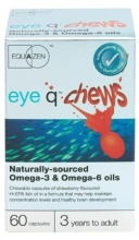 Eye Q Chews Sabor Capsulas fresa