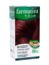 Farmatint 4M Castaño Caoba Gel Coloración Permanente 150ml