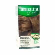 Farmatint 5D Castaño Claro Dorado Gel Coloración Permanente 150ml