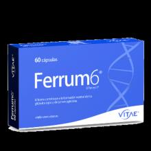 FERRUM 6 VITAE 60 COMPRIMIDOS