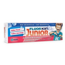 FluorKin Junior Sabor Fresa 75ml