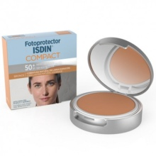 Protector Solar Maquillaje Compacto 50+ Bronce