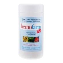 Hemofarm Plus 60 Toallitas en Bote