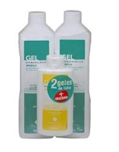Inibsa 2 Geles de 1L + 1 Gel de Regalo 200ml