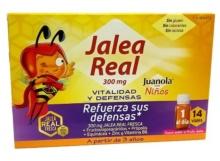 JUANOLA NIÑOS JALEA REAL 300MG REFUERZA TUS DEFENSAS 14 VIALES
