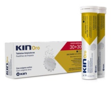 Kin Oro Tabletas Limpiadoras 30+30 Oferta Especial