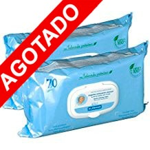 Klorane Bebe Duplo Toallitas Limpiadoras 70+70
