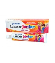 LACER JÚNIOR GEL DENTAL SABOR FRESA 75ML