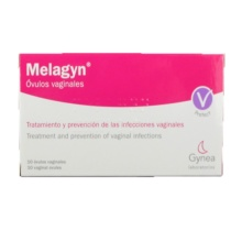 Melagyn 10 Óvulos Vaginales