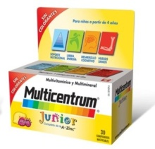 Multicentrum Junior Completo 30 comprimidos