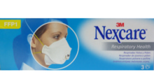 Nexcare respirador polvo y polen