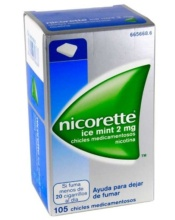 Nicorette Ice Mint Chicles