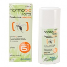 Normpic Forte Repelente Mosquitos 75ml