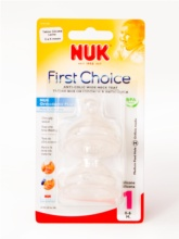 Nuk First Choice + Anti-Colic 0-6 meses talla M silicona