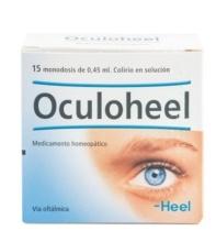 OCULOHEEL MEDICAMENTO HOMEOPÁTICO 15 MONODOSIS COLIRIO EN SOLUCIÓN