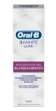 Oral B 3D White Luxe Acelerador Blanqueante 75ml
