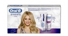 Oral B White 3D Tratamiento Blanqueamiento 2x75ml