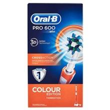 Oral-B PRO-600 3D Color naranja