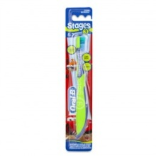 Oral-B Stages 3 Cepillo Dental Suave 5-7 años Cars