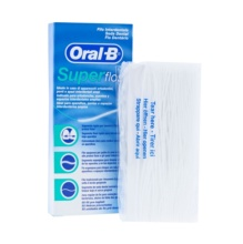 Oral B Super Floss Seda Dental 50 Hebras Precortadas