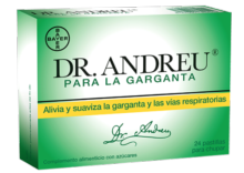 DR. ANDREU PARA LA GARGANTA 24 PASTILLAS PARA CHUPAR