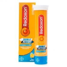 Redoxon Doble Acción Vitaminas y Zinc, 15 comprimidos