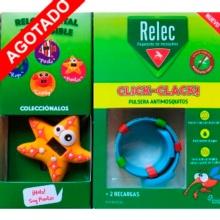 Relec Pulsera Anti-Mosquitos + Reloj Digital Estrella