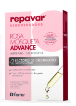 REPAVAR ROSA MOSQUETA ADVANCE ACEITE PURO + 2 FACTORES DE CRECIMIENTO 15ML