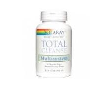 Solaray Total Cleanse Multisystem 120 Cápsulas