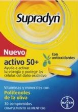 SUPRADYN NUEVO ACTIVO 50+ VITAMINAS Y MINERALES COMPRIMIDOS